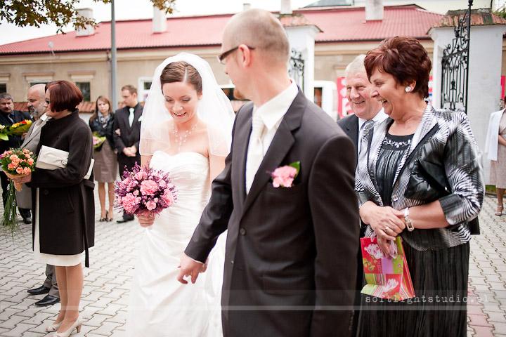 Zdjęcie z reportażu ślubnego Gosi i Pawła