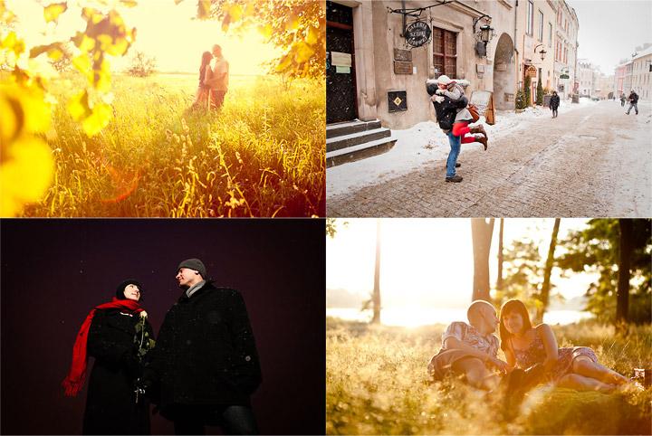 Sesja zdjęciowa na Walentynki u lubelskich fotografów ślubnych