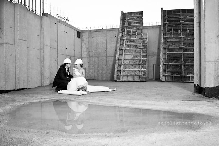 Zdjęcia ślubne w stylu industrialnym