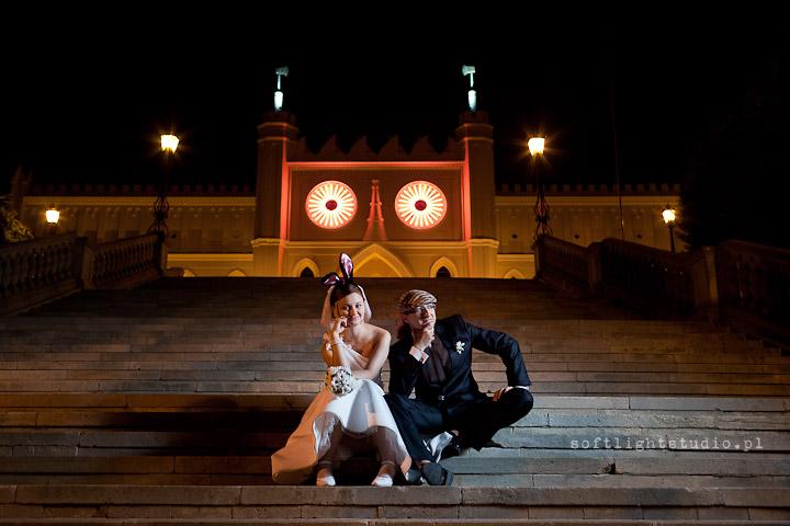 Zdjęcia ślubne na wesoło