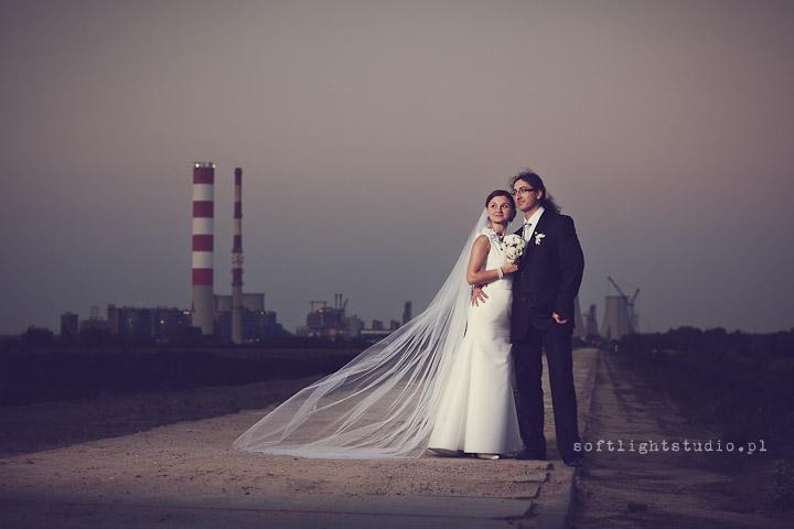 Industrialne Zdjęcia Ślubne